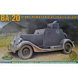 Бронеавтомобиль БА-20, ранний 1:48