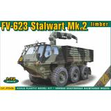 Плавающий тягач Stalwart Mk-I (FV-620) 1:72
