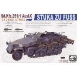 Sd.Kfz 251/1 Ausf.C «STUKA Zu FuB« 1:35