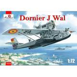 Немецкая летающая лодка Dornier J Wal, война в Испании 1:72