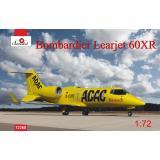Санитарный самолет Bombardier Learjet 60XR ADAC 1:72