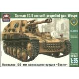 ARK35013 SdKfz.124 WESPE German self-propelled gun 1:35