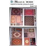 Материал для диорам, ковры, картины (картон) 1:35