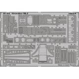 Фототравление 1/48 Airacobra Mk.I S.A. (Hasegawa) 1:48