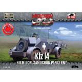 Немецкий бронеавтомобиль радиосвязи Kfz.14 1:72