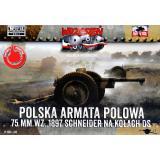 Польская 75-мм полевая пушка