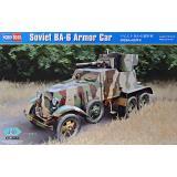 Советский бронеавтомобиль БА-6 1:35