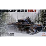 Немецкий легкий танк Panzerkampfwagen III Ausf.B 1:72