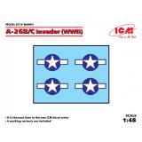 Декаль для самолета A-26B/C Invader (WWII) 1:48