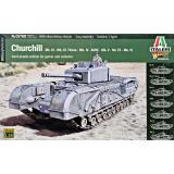 Британский танк Churchill Mk.III - Mk.III 75mm - MK.IV - AVRE - Mk.V - NA 75 - Mk.VI