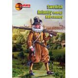 Шведская пехота, в начале XVII века 1:72