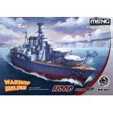 Военный корабль - Худ (мультипликационное моделирование)