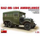 Санитарный автобус ГАЗ-05-194 1:35
