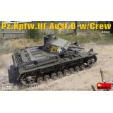 Танк Pz.Kpfw.III Ausf.B с экипажем 1:35
