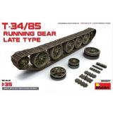 Набор деталировки: Ходовая часть для танка Т-34/85 позднего выпуска 1:35