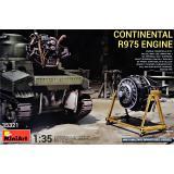 Двигатель с воздушным охлаждением Continental R975 1:35