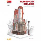 Разрушенный городской дом 1:35