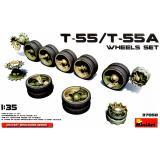 Набор катков для танков Т-55/Т-55А 1:35