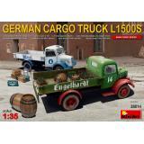 Немецкий грузовой автомобиль L1500S с продовольствием 1:35