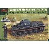 Немецкий лёгкий танк Pz.Kpfw II тип Д