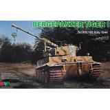 Танк Bergepanzer Tiger I, Италия, 1944 г. 1:35