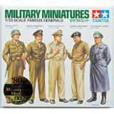 Набор знаменитых генералов Второй Мировой войны 1:35