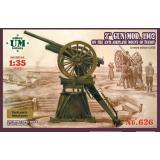 3-дм пушка образца 1902 на протиаеропланном станке Иванова 1:35
