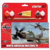 Подарочный набор с моделью самолета North American P-51D Mustang 1:72
