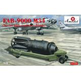 Крупнокалиберная фугасная авиабомба ФАБ-9000 М54