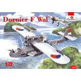 Немецкая летающая лодка Dornier J Wal, война в Восточной Индии 1:72