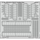 Фототравление 1/72 Blenheim Mk.IVF, закрылки (Airfix) 1:72