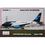 Пассажирский авиалайнер Airbus A318-100, Mexicana 1:144