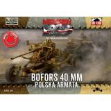 40 мм зенитное орудие Bofors 1:72