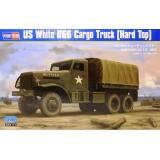 Американский грузовик White 666 Cargo (Hard Top) 1:35