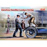 Американские бензиновые грузчики (1910-е) (2 фигуры) 1:24