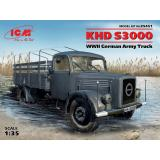 Германский армейский грузовой автомобиль KHD S3000 1:35