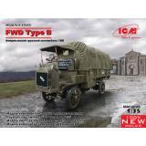 Американский грузовой автомобыль Первой мировой войны FWD Type B