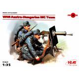 Австро-венгерский пулеметный расчет, І МВ 1:35