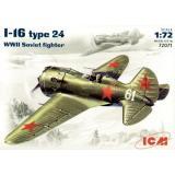 Истребитель Поликарпов И-16 тип 24 1:72