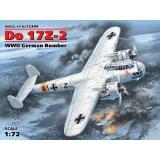 Немецкий бомбардировщик Do 17Z-2, 2 МВ 1:72