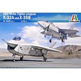 Перспективные ударные самолеты X-32A і X-35B программи JSF (две модели в коробке) 1:72