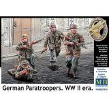 Немецкие парашютисты, Вторая мировая война 1:35