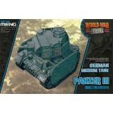 Немецкий средний танк Panzer III (World War Toons series)