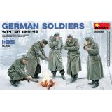 Немецкие солдаты, зима 1941-42 г. 1:35