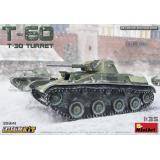 Легкий танк Т-60 (башня Т-30) с интерьером 1:35