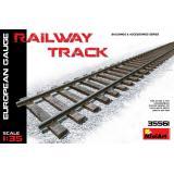 Железнодорожные рельсы, европейская колея 1:35