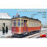 Советский Трамвай Серии-Х (Раннего Типа) 1:35