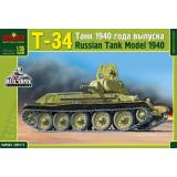 Т-34 танк (производства 1940 года)