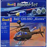Подарочный набор с вертолетом Bell OH-58D