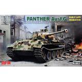 Немецкий средний танк Panther Ausf.G раннего/позднего производства 1:35